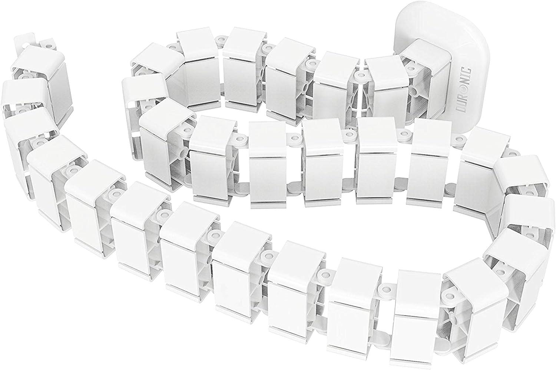 Duronic Cm1dm Flexibles Kabelkanal Kabelschlange Für Computer Zubehör