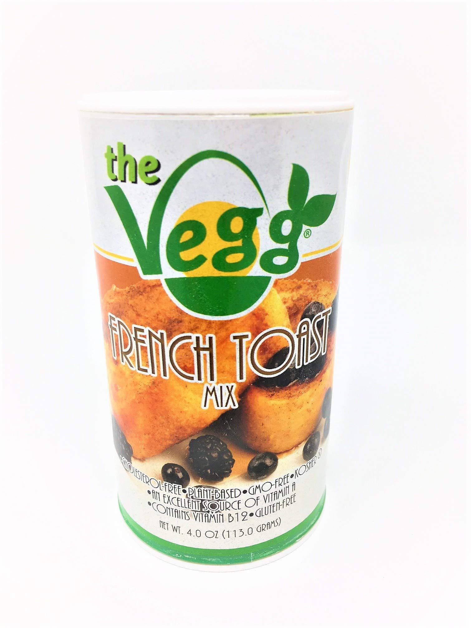 The Vegg Vegan Mega Pack Vegan Egg Yolk + Power Scramble + French Toast Mix + Uncaged Baking Mix + Egg Wisk + Measuring Cups and Spoons + The Vegg Cookbook by The Vegg (Image #4)