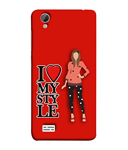 check out 920d1 f160a VIVo Y31, VIVo Y31L Back Cover I Love My Style: Amazon.in: Electronics