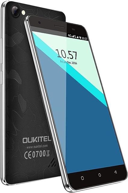 OUKITEL C5 Pro - Smartphone Libre 4G de 5.0HD (FDD-LTE, Android ...