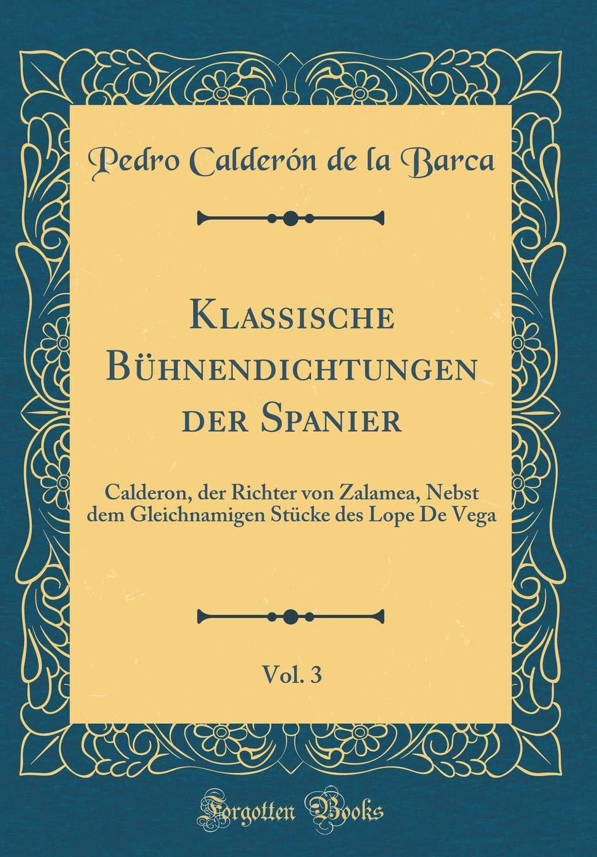 Der Richter von Zalamea (German Edition)