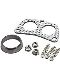 DNA Motoring GKT-A-2-DP-DNT-GPT-KIT Graphite Aluminum Gasket Plus Donut, Studs, Bolts Kit