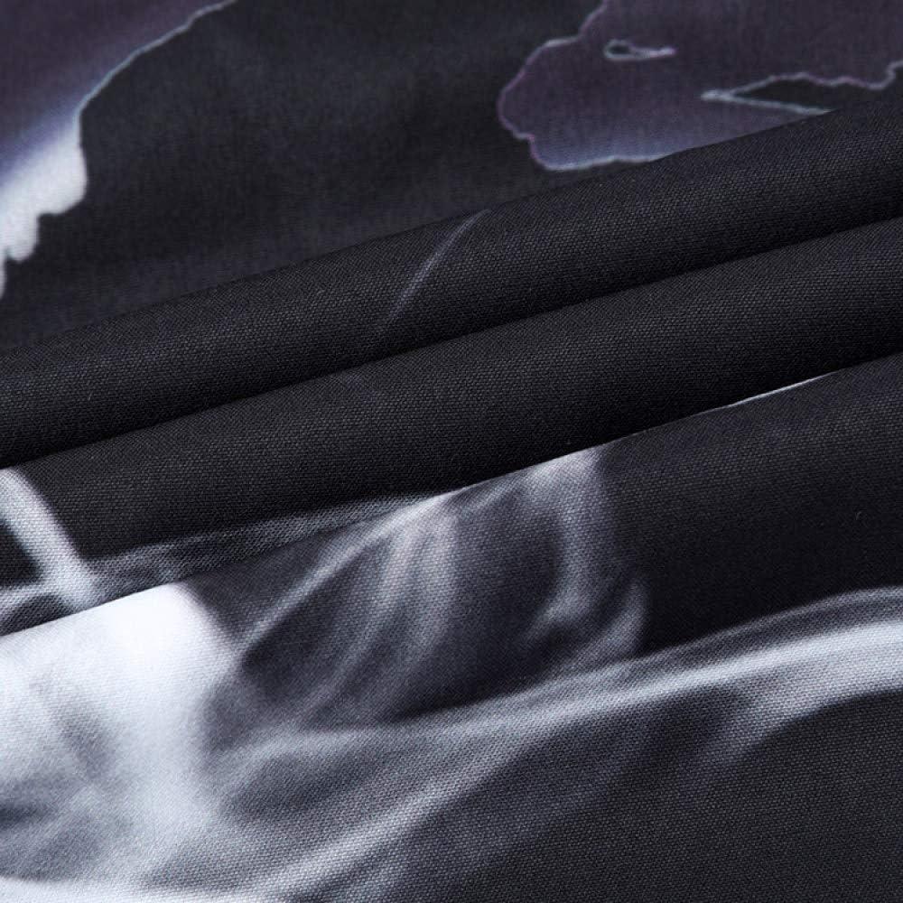 FLY FLU Kimono Herren Jacke,M/änner Japanische Yukata Mantel Kimono Outwear Vintage Casual Top,Black-USXL//Tag2XL