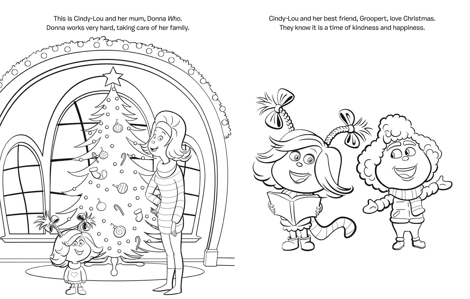 The Grinch Movie Colouring Book Grinch Movie Tie In Amazon
