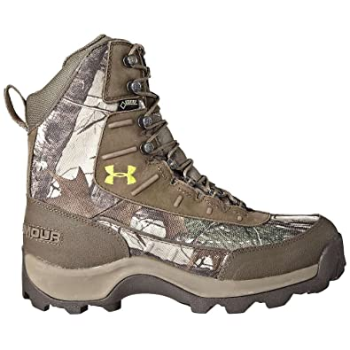 62a8f42a23e Under Armour Men`s Brow Tine 800g Hunting Boots, 8, REALTREE AP XTRA/ FAWN