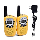 Amazon Price History for:Swiftion Rechargeable Kids Walkie Talkies 22 Channel 0.5W FRS/GMRS 2 Way Radios with Charger and Rechargeable Batteries (Yellow, Pack of 2)