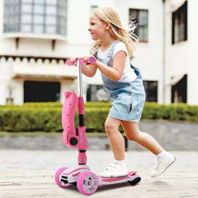 Kids Folding Scooter Outdoor Foldable Boys Girls Toy Child Razor