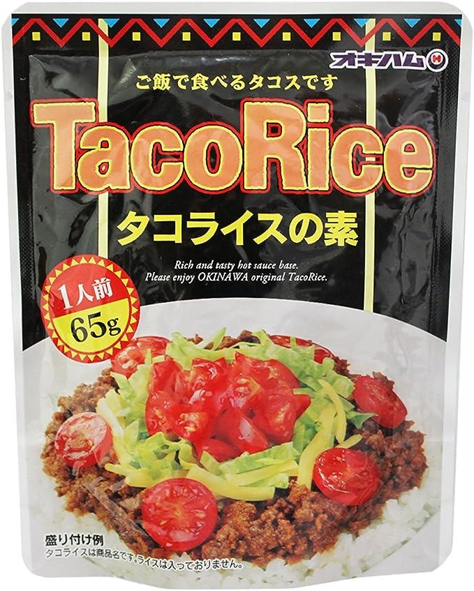 Amazon | タコライスの素 65g×6袋 オキハム ご飯で食べるタコス ...