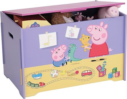 Peppa Pig - Caja para juguetes: Amazon.es: Hogar