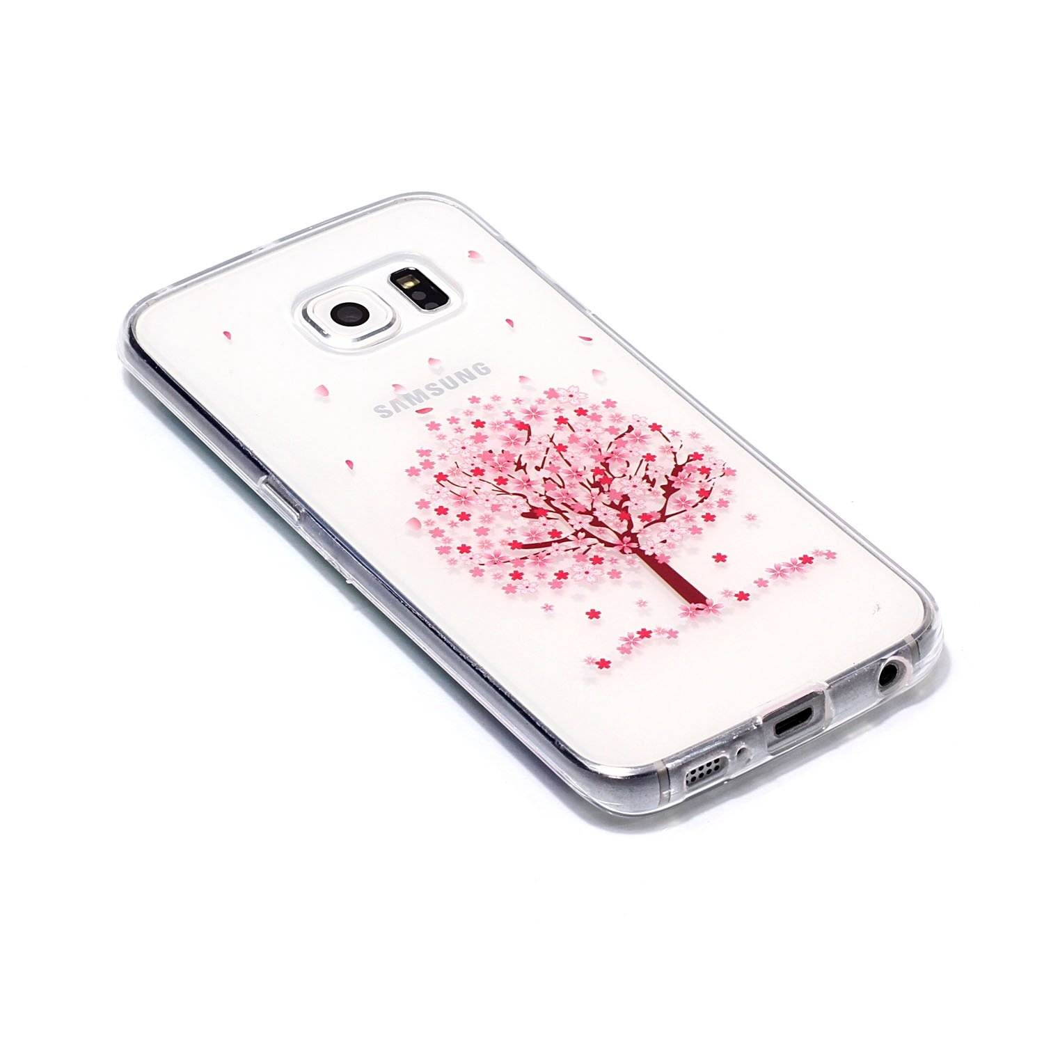 coque galaxy s6 edge cerisier