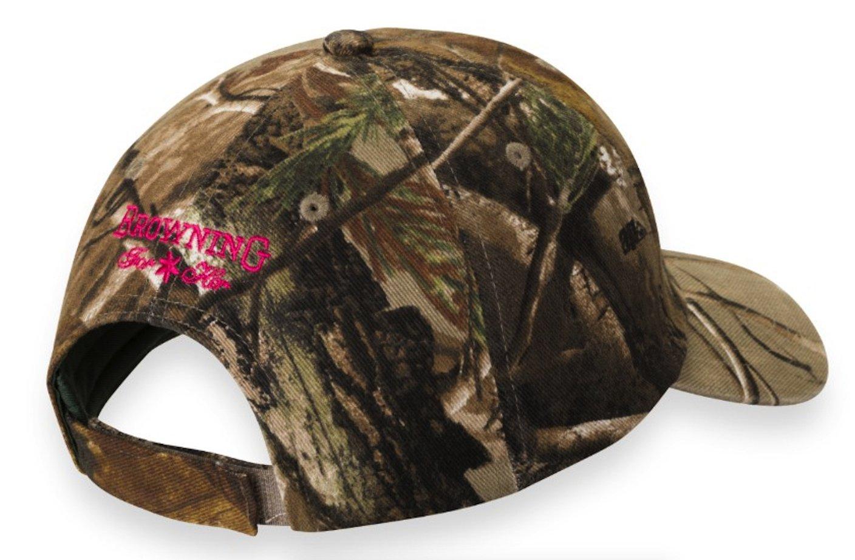 Browning gorra gorro para mujer 3d Buckmark para su, Realtree Xtra: Amazon.es: Deportes y aire libre