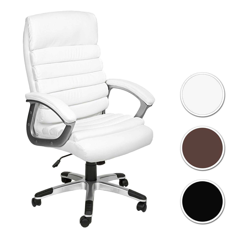 TecTake Silla de oficina sillon de despacho ejecutivo con reposabrazos disponible diferentes