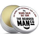 The Bearded Man Beard Balm Bay Rum 30g