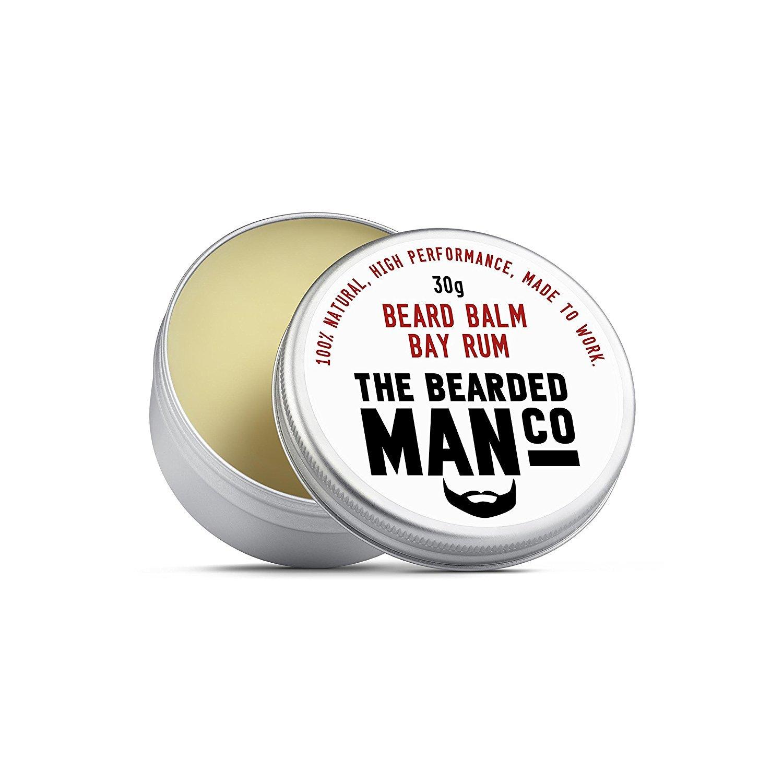 The Bearded Man Beard Balm Bay Rum 30g BB30gBayRum