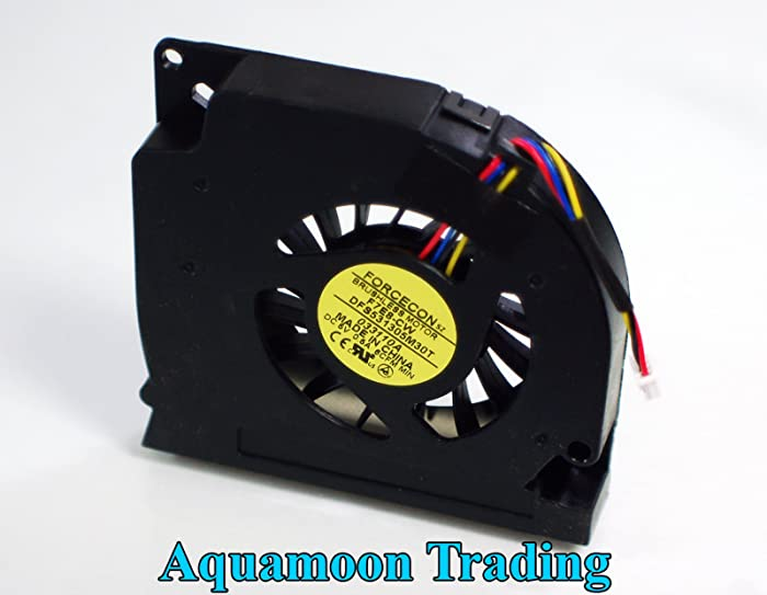 NEW Genuine OEM DELL Latitude E5400 E5500 Laptop Notebook Cool Cooling Chassis Blower Assembly Forcecon DFS531305M30T Fan C946C