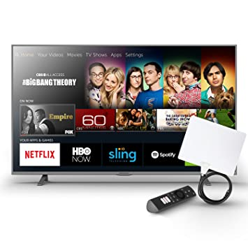 Amazon com: Element 43-Inch Fire TV Edition TV with