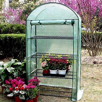 HAIPENG Invernadero De Jardín Mini Invernáculo Reforzado Cubrir ...