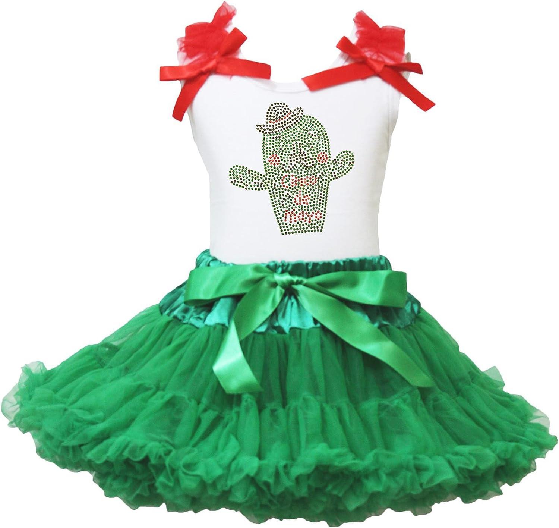 Cinco de Mayo Vestido Cactus Blanco Camiseta de algodón de Kelly ...