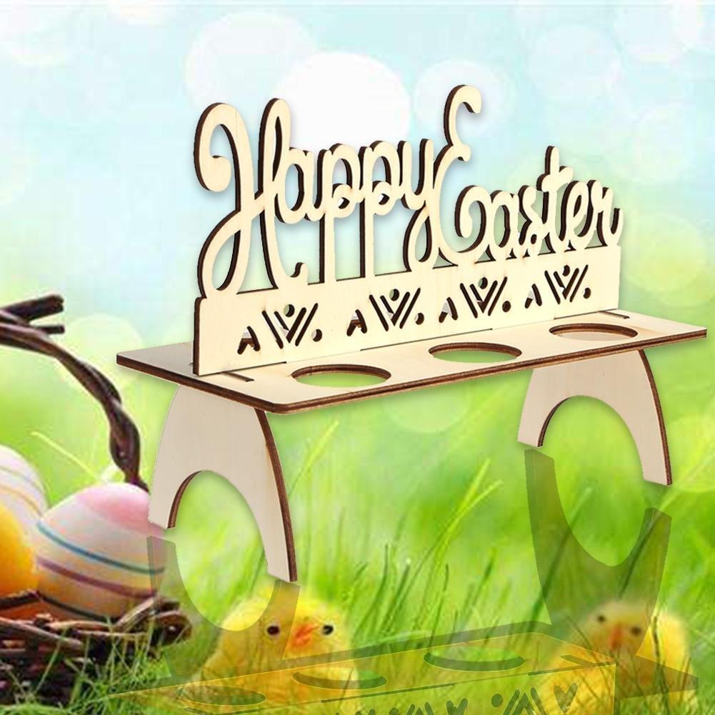 Coniglio Demiawaking Bella Portauova di Pasqua DIY Portauova Pasquali in Legno Decorazioni per la Casa