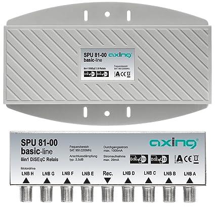 Axing SPU 81 00 DiSEqC 8 Way Multifeed Switch Outdoor Amazoncouk Electronics