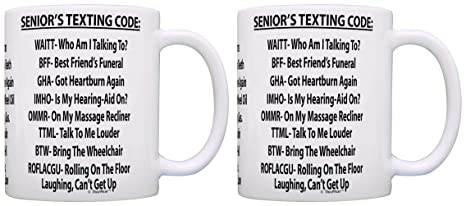 Amazon Birthday Gifts For Dad Seniors Texting Code Funny