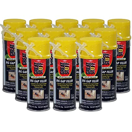 Great Stuff Big Gap Filler - 12 oz Cans - Full Case (12 cans