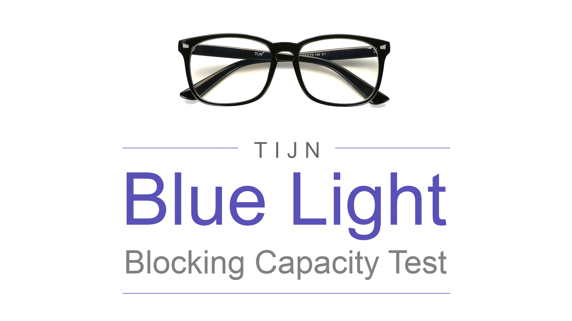d641e0d424c TIJN Blue Light Blocking Glasses Square Nerd Eyeglasses Frame Anti Blue Ray  Computer Game Glasses
