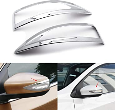 Accessories Chrome Door Side Mirror Covers For 2013-2018 Nissan Altima Sedan