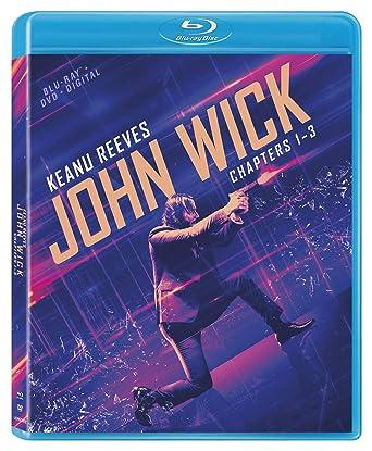 John Wick: Chapters 1-3 [Blu-ray + DVD + Digital]