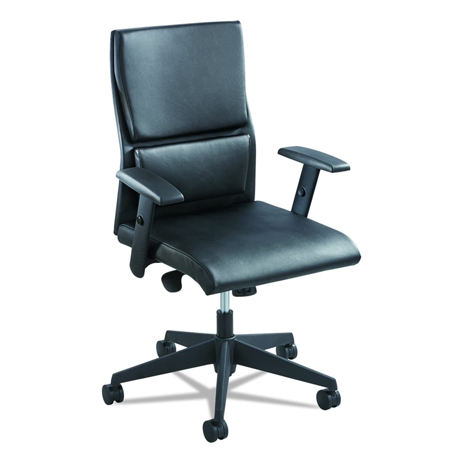 Safco Products Tuvi High Back Executive Chair, Black Safco Products CA 5070BL