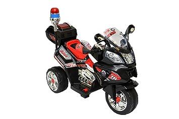 015-6V Akku Police Design Elektro Kindermotorrad