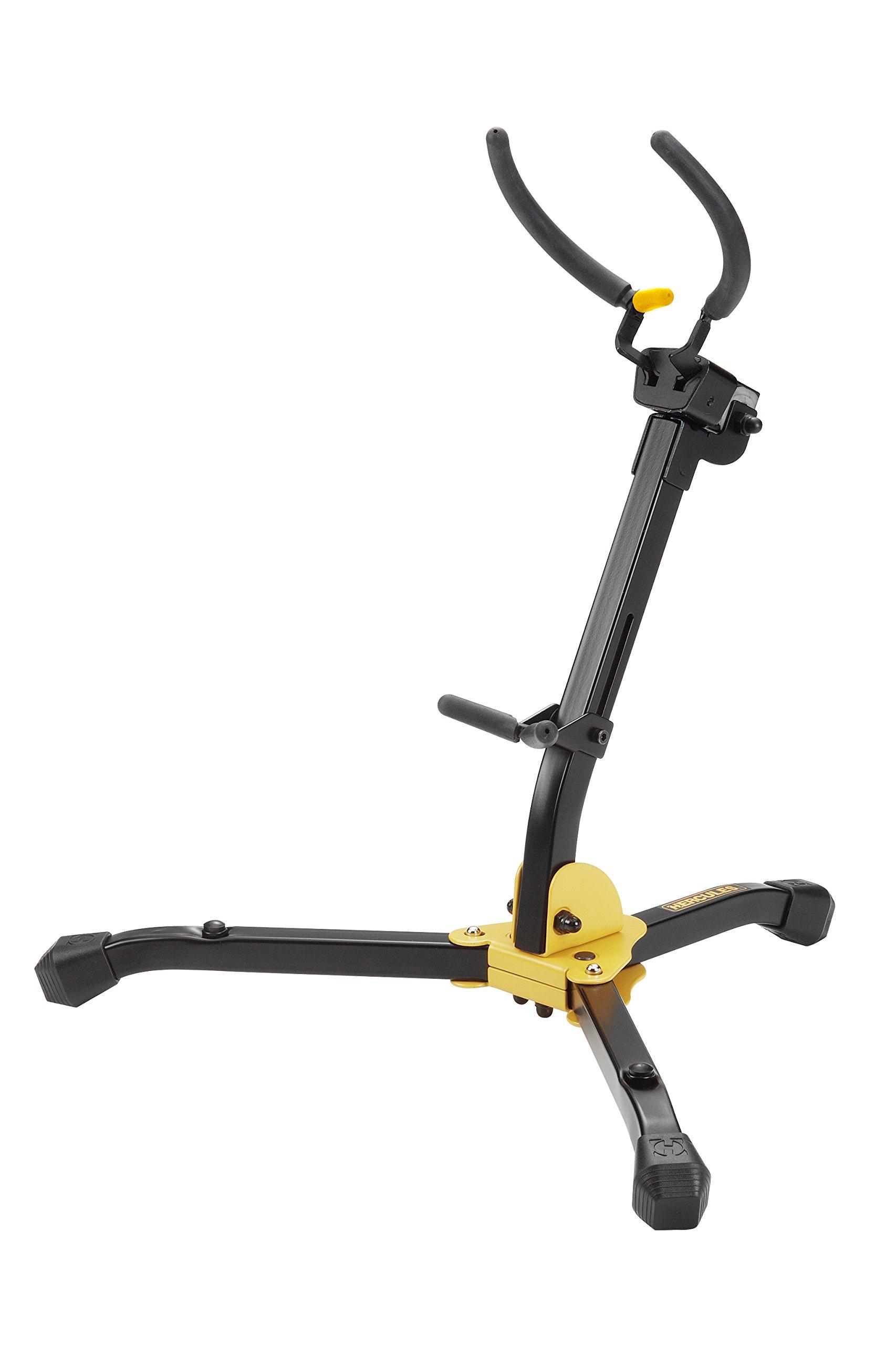 Hercules DS630BB Auto Grip Alto/Tenor Saxophone Stand