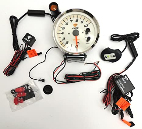 faze competition tach 883301 w morpher kit, tachometers Faze Tach Wiring Diagram faze tach wiring diagram n5