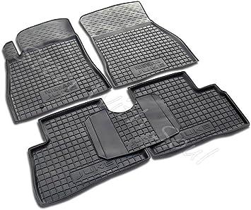 Black//Grey HEAVY DUTY All WEATHER Front Rear RUBBER CAR Floor MATS Nissan Juke