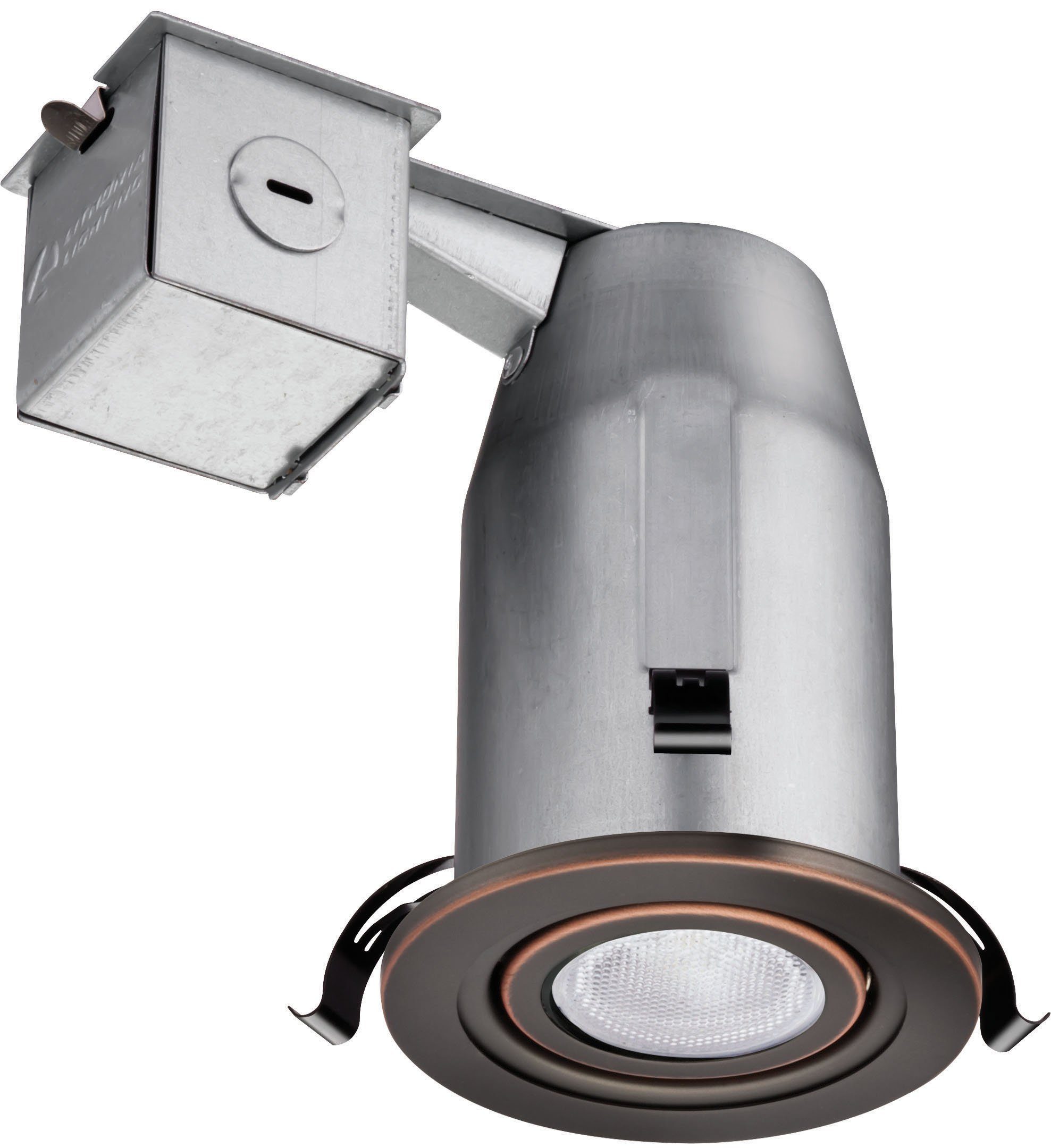 Lithonia Lighting LK3GORB LED LPI M6 3 Inch Gimbal Kit with LED Lamp Included in Bronze by Lithonia Lighting