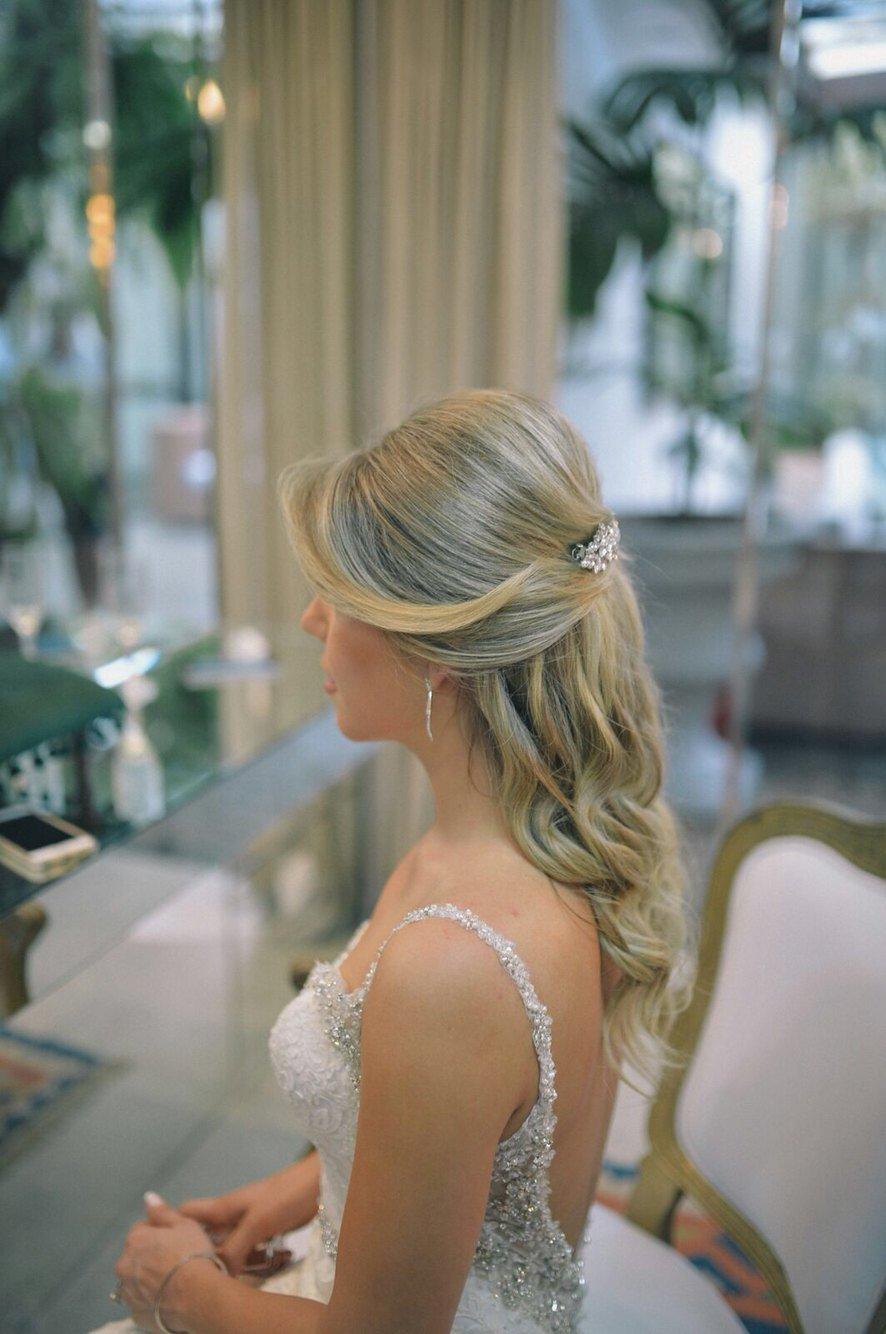 Swarovski Crystal Marquise Rhinestones Wedding Barrette