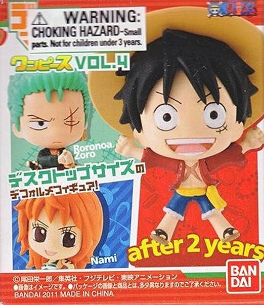 Amazon.com: Bandai One Piece: DMP Trading Figure Vol. 4 With ...