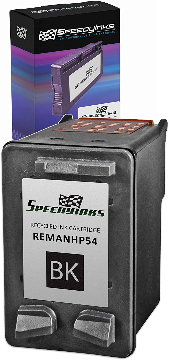 Speedy Inks Remanufactured Ink Cartridge Replacement for HP 54 High-Yield (Black)