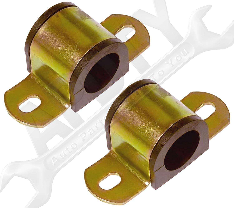 APDTY 039413 Front Suspension Stabilizer Sway Bar Bushing Kit Fits Select 2004-2009 Buick Rainer//Chevrolet Trailblazer//GMC Envoy//Oldsmobile Bravada Replaces 11516918, 15128365, 25797990