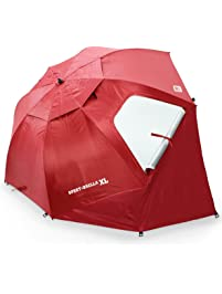 SKLZ Sport Brella Extra Large Umbrella (Deep Red)