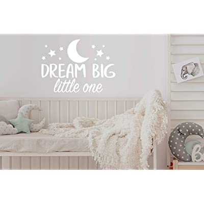 Story of Home LLC Dream Big Little One Wall Decal Nursery Wall Decal Kids Room Wall Decal Nursery Wall Sticker Vinyl Wall Decal: Home & Kitchen