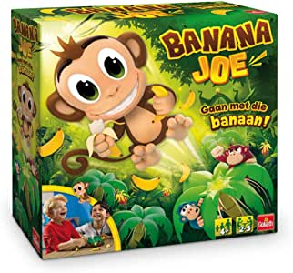 Goliath Games Banana Joe Juego de Habilidades motrices Finas Niños y Adultos - Juego de Tablero (Juego de Habilidades motrices Finas, Niños y Adultos, 4 año(s), Caja): Amazon.es: Juguetes y juegos