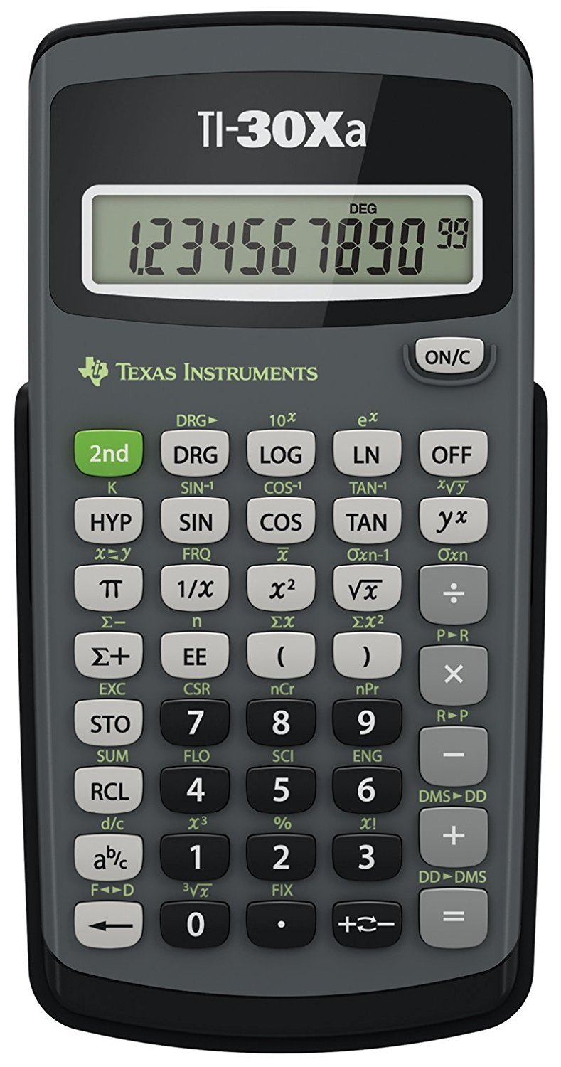 Texas Instruments TI-30Xa Scientific Calculator by Texas Instruments