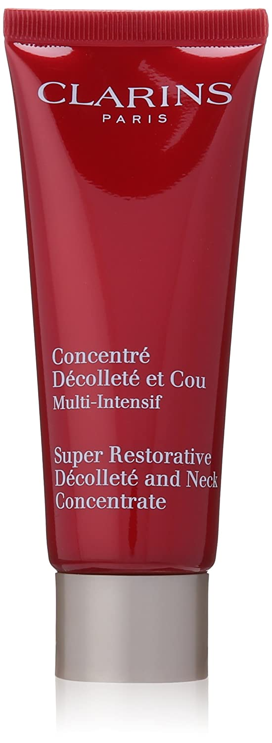Clarins Super Restorative Decollete and Neck Concentrate for Unisex, 2.4 Ounce 3380811072203 825-72203