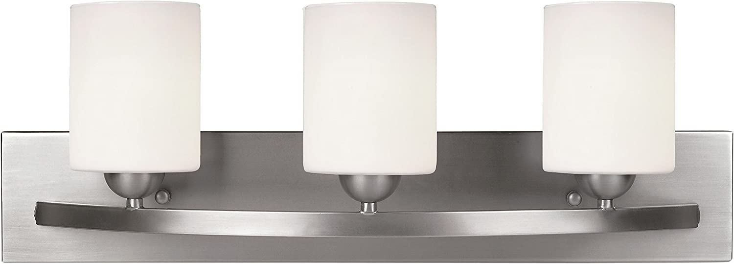 Leria Modern 3-Light Vanity – Nickel