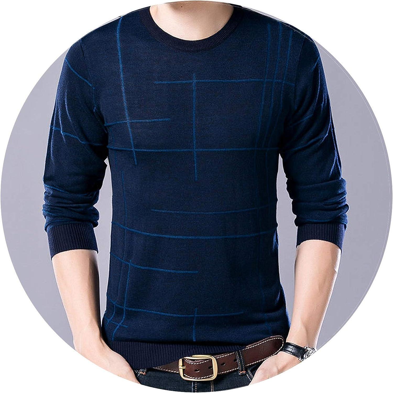 Ablaze Jin Soft Cashmere Sweaters O-Neck Wool Pullovers 2018 Autumn Winter Warm Sweater