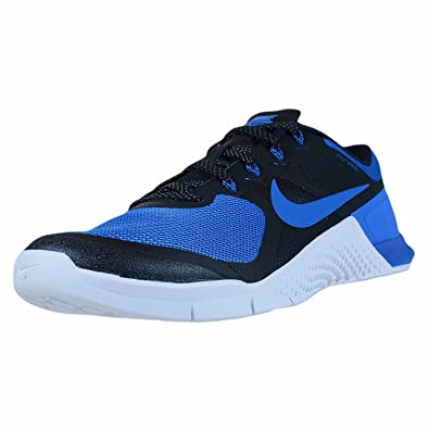 Nike Metcon 2 Cross Training Shoes, Black/Royal Blue, 13 D(M