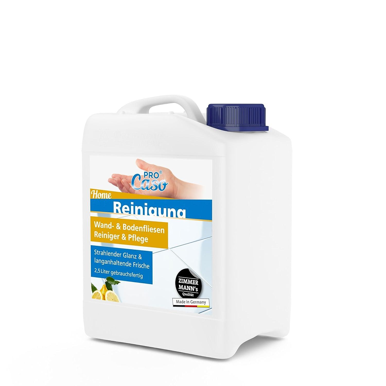 Procaso Wand Und Bodenfliesen Reiniger 1 Liter Mit Zerstauber 2 5 Liter Nachfullpack Fliesenreiniger Universalreiniger Bodenreiniger