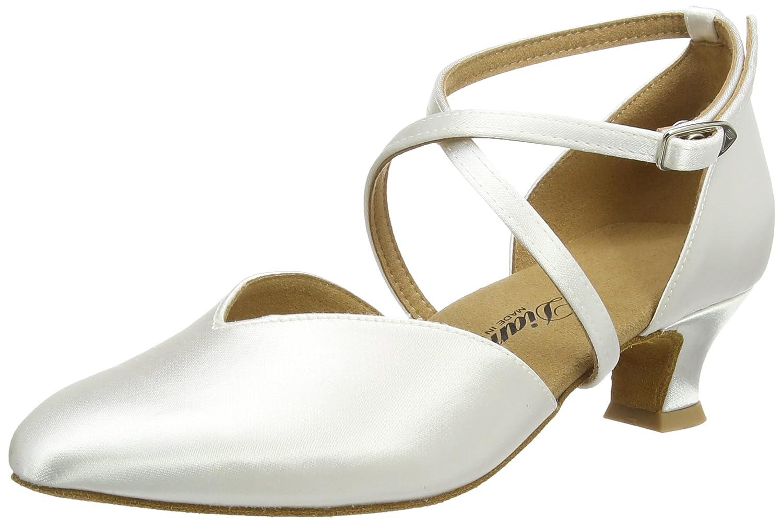 Diamant Salon B00MY4MVGQ - Brautschuhe Standard Tanzschuhe 107-013-092, Chaussures de Danse de Salon Femme Blanc - Blanc e78a8eb - automaticcouplings.space