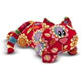Melissa & Doug Toby Cat - Patterned Pal Stuffed Animal